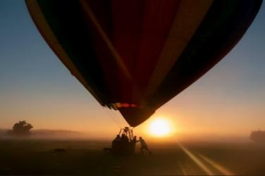 Sunset Hot Air Balloon Ride