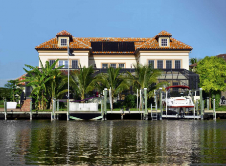 Waterfront Villa South West Florida